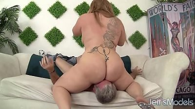 Hot chubby girl fuck and facial