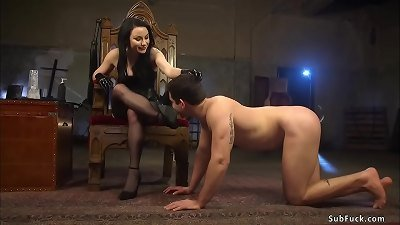 donk plugged stud worship mistress