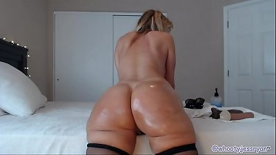 BBC Anal Double Penetration Camgirl Jess Ryan