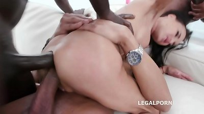 Waka Waka Blacks are coming Aletta Black gets 4 BBC Balls Deep Anal, DAP, Gapes and Facial GIO1358