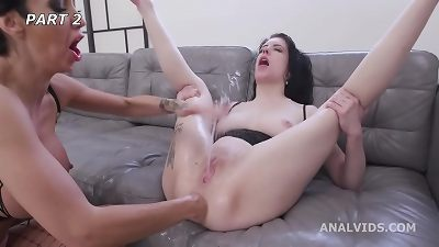 Anna de Ville and Laura Fiorentino have no limits #2 nuts Deep Anal, DAP, Spitting, Squirting, ButtRose, ass-fuck handballing GIO1778